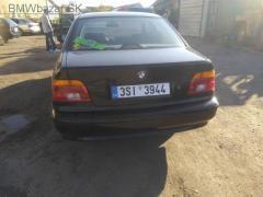 BMW e39 520ia 125kW m54b22 barva schwarz 2