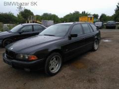 BMW e39 523i 125kW barva cosmosschwarz veškeré náhradní díly