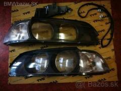 BMW rada 5 E39 -09/2000 Kryty svetlometov