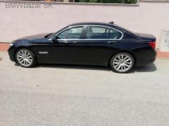 BMW 750i, 01/2009, 300kW, 1. majiteľ, kúpené na SK