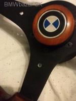 BMW drevený volant e34,e30