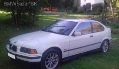 BOČNÉ OKENNÉ SKLO - BMW 316i e36 compact  r.v.1998