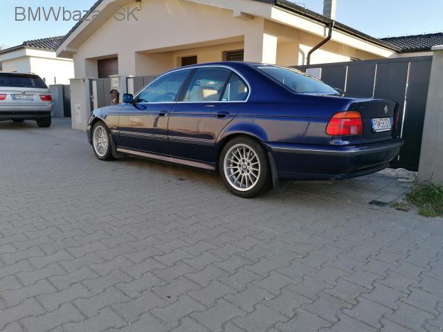 E39 540i M62B44 r.v. 11/1997, mod. 98 - 3/10