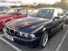 BMW E39 530i Touring Anglický