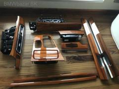 BMW 7 F01 interierovy original dekor set orech
