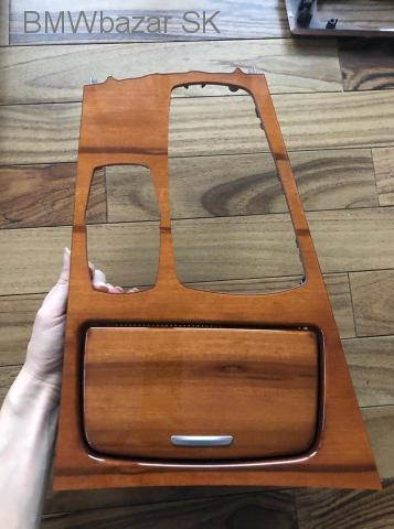 BMW 7 F01 interierovy original dekor set orech - 3/10