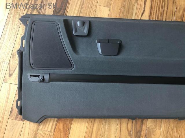 BMW 7 F01 zadná polička batožinového priestoru reproduktory - 2/7