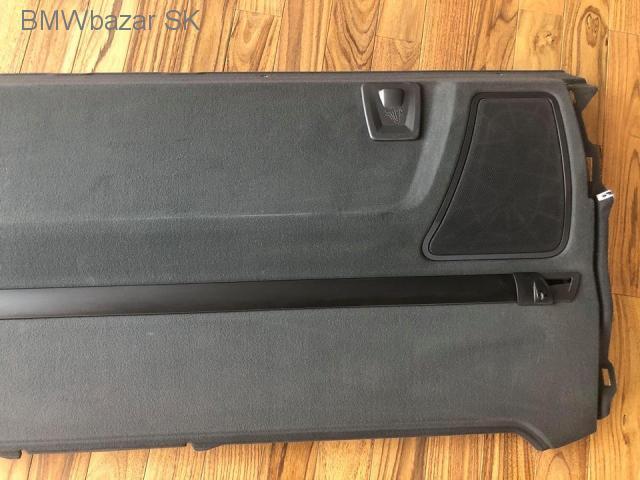 BMW 7 F01 zadná polička batožinového priestoru reproduktory - 4/7