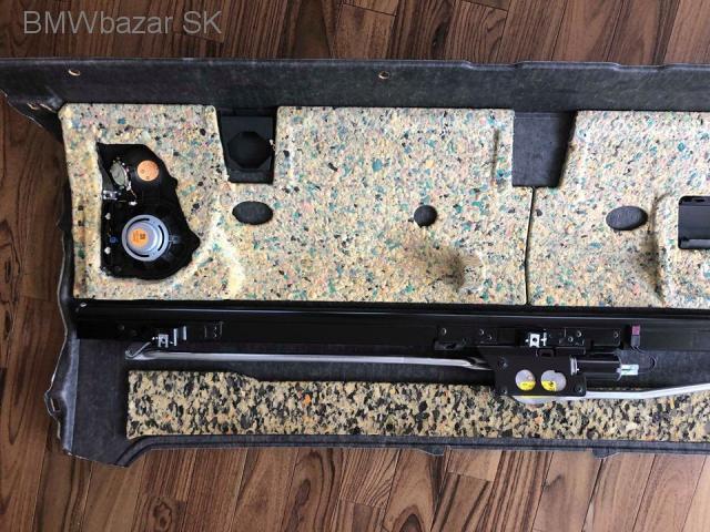BMW 7 F01 zadná polička batožinového priestoru reproduktory - 6/7